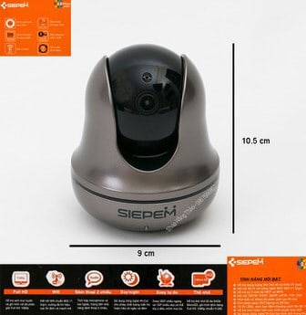 CAMERA IP SIEPEM S6812Y PLUS 1080P (2.0MPX)