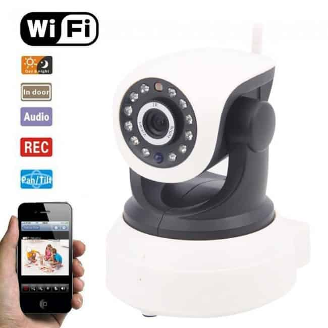 CAMERA IP VISION WIRELESS P2P