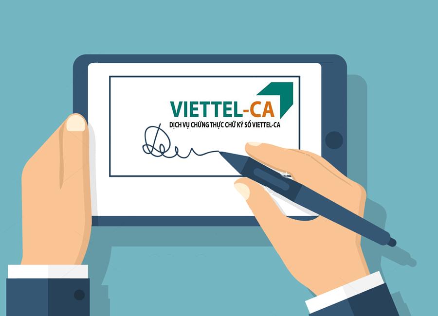 chữ ký số Viettel bình dương
