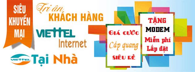 lắp mạng viettel Bình Định