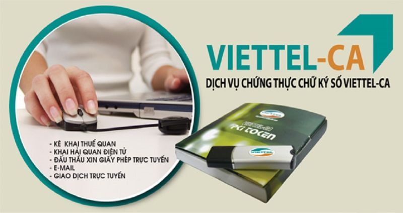chữ ký số Viettel Thái Nguyên